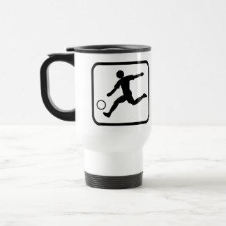 Footballer pro mug de voyage