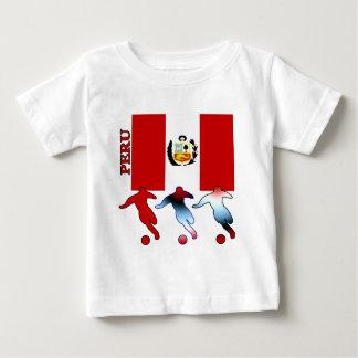 Footballeurs péruviens t-shirt pour bébé