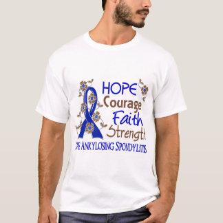 Force 3 Spondylit ankylosant de foi de courage T-shirt
