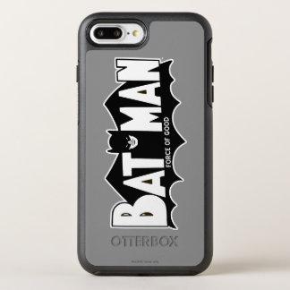 Force de Batman | du bon logo 60s Coque OtterBox Symmetry iPhone 8 Plus/7 Plus
