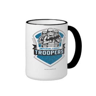 Force impériale de soldats de la cavalerie de mug ringer