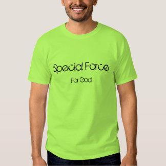 Force spéciale, pour Dieu T-shirts