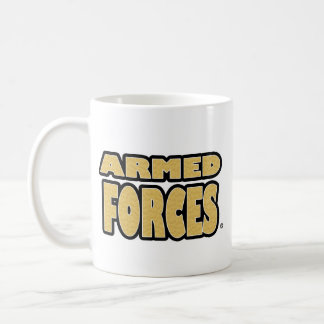 Forces armées ; Tasses de tout-style d'Or-Lettres