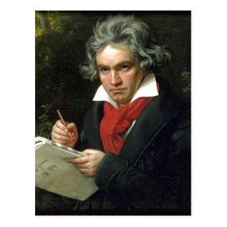 Forces d'appoint de Ludwig van Beethoven de Carte Postale