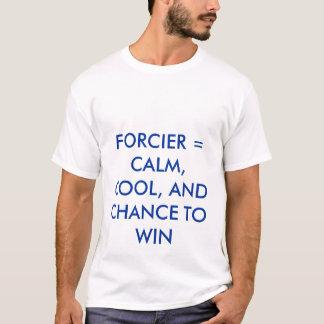 FORCIER = CALME, COOL, ET OCCASION DE GAGNER T-SHIRT