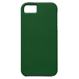 Forest Green personnalisable moderne Coques Case-Mate iPhone 5