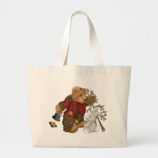 Forestier d'ours de nounours sac en toile