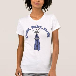 Foret, bébé, T-shirt de dames de foret