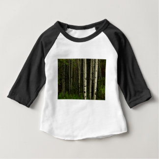Forêt blanche t-shirt pour bébé