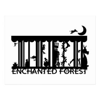 forêt cartes postales