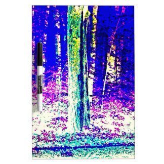 Forêt d hiver tableaux effaçables blancs