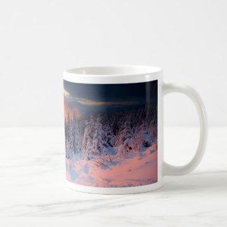 Forêt d hiver tasse à café