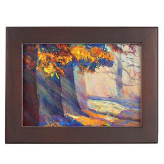 Forêt d'automne boîtes à souvenirs