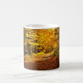 Forêt de chute mug