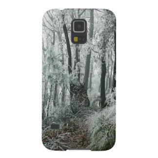 Forêt de Freezed de scène d'hiver Coque Galaxy S5