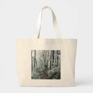 Forêt de Freezed de scène d'hiver Sac Fourre-tout