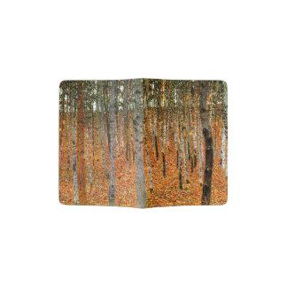 Forêt de hêtre par Gustav Klimt Protège-passeport