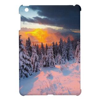 Forêt d'hiver coques iPad mini