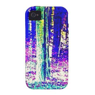 Forêt d'hiver étui vibe iPhone 4