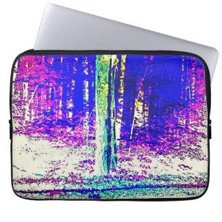 Forêt d'hiver housses ordinateur