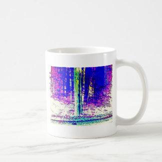 Forêt d'hiver mug