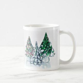 Forêt en verre mug
