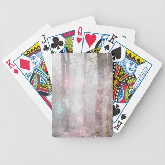 Forêt enchantée cartes à jouer