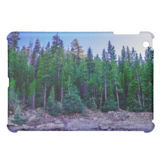 Forêt et ciel de vallée de Yosemite Étuis iPad Mini
