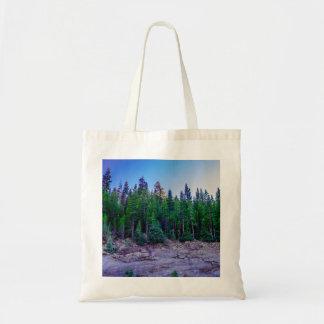 Forêt et ciel de vallée de Yosemite Sac Fourre-tout
