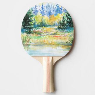 Forêt Raquette De Ping Pong
