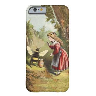Forêt victorienne de pot de miel de fille coque iPhone 6 barely there