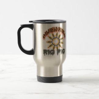 Foreurs de montagne rocheuse mug de voyage
