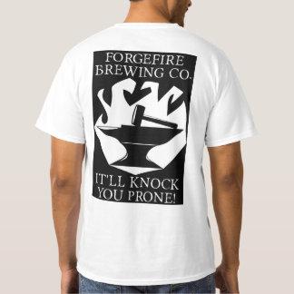 Forgefire brassant le T-shirt de Cie.