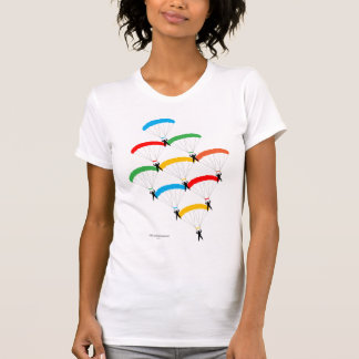 Formation de parachute t-shirt