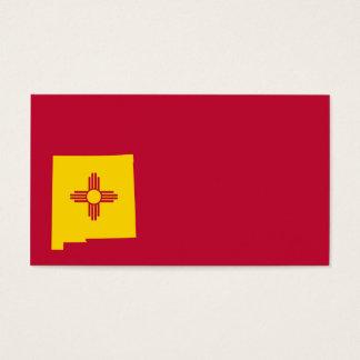 Forme de carte de drapeau du Nouveau Mexique