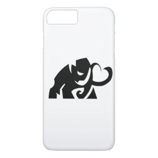 forme d'éléphant de vecteur je téléphone le cas coque iPhone 7 plus