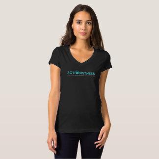 Forme physique d'action plus heureuse vous T-shirt