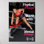 Forme physique de Prescott de Heather et copies pe Posters