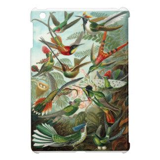Formes 1899 d'art d'espèces de colibri de copie de étui iPad mini