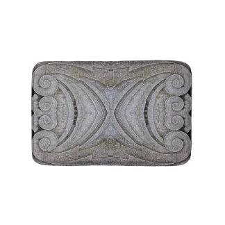 Formes découpées de Shell de boucle de pierre de Tapis De Bain