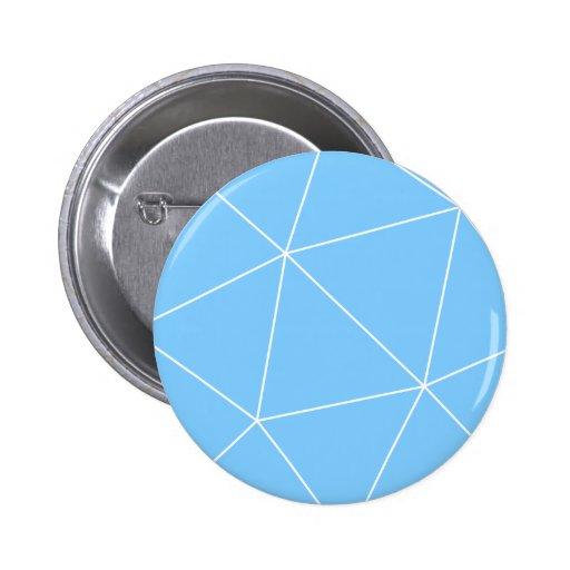 Formes géométriques badge avec épingle