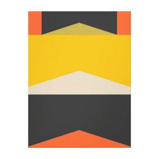Formes géométriques modernes d'art abstrait de la toiles