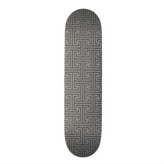 Formes géométriques simples skateboards customisés