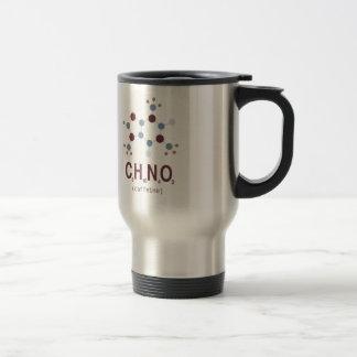 Formule chimique de caféine mug de voyage