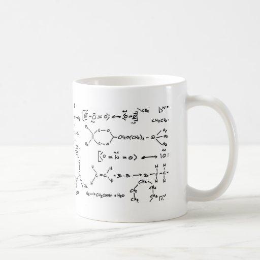 Formule chimique mugs