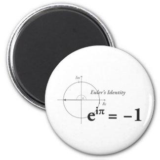 Formule de maths de l'identité d'Euler Magnets Pour Réfrigérateur