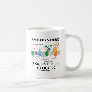 Formule de photosynthèse (produit chimique) mugs