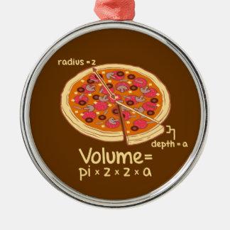 Formule mathématique Pi z z a de volume de pizza Ornements De Noël
