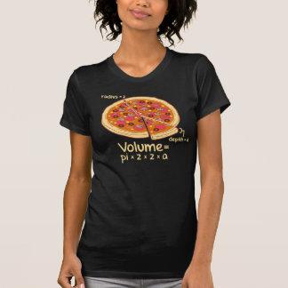 Formule mathématique = Pi*z*z*a de volume de pizza T-shirts