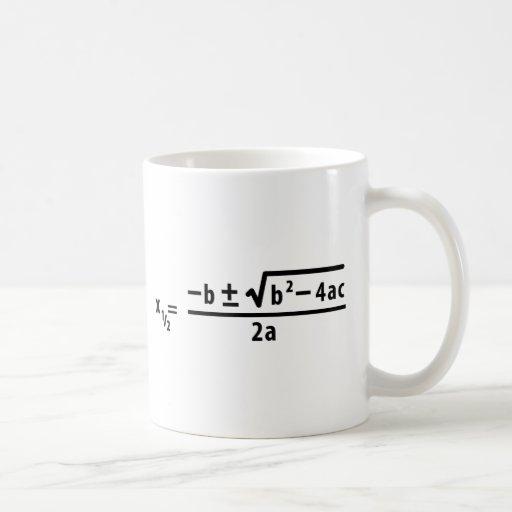 formule quadratique tasse